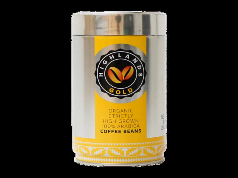Highlands Gold Highlands Gold - Gràos de café