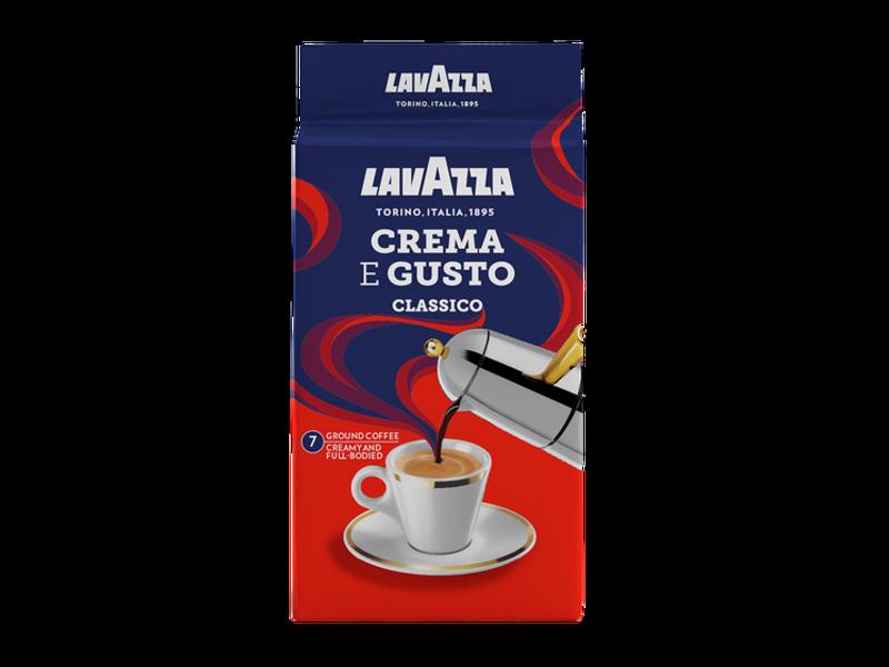 Lavazza Lavazza - Crema e Gusto - Gemalen koffie