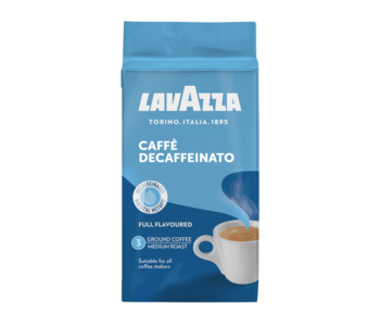 Lavazza - Dek décaféiné - Café Moulus