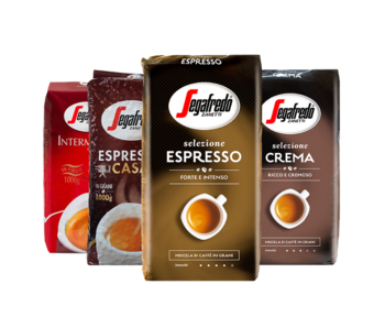 Segafredo - Coffee beans package
