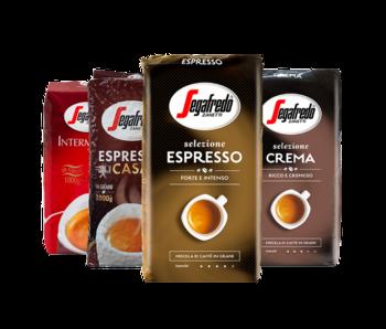 Segafredo - Gràos de café pacote