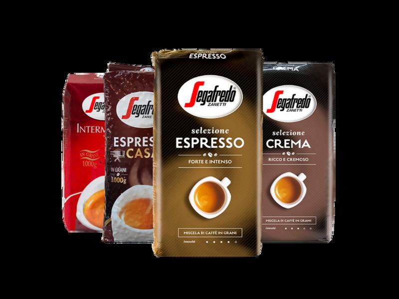 Segafredo Segafredo - Proefpakket koffiebonen