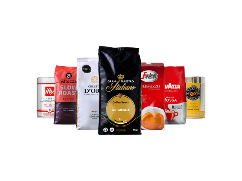 Coffee package House favorites - Café en grano