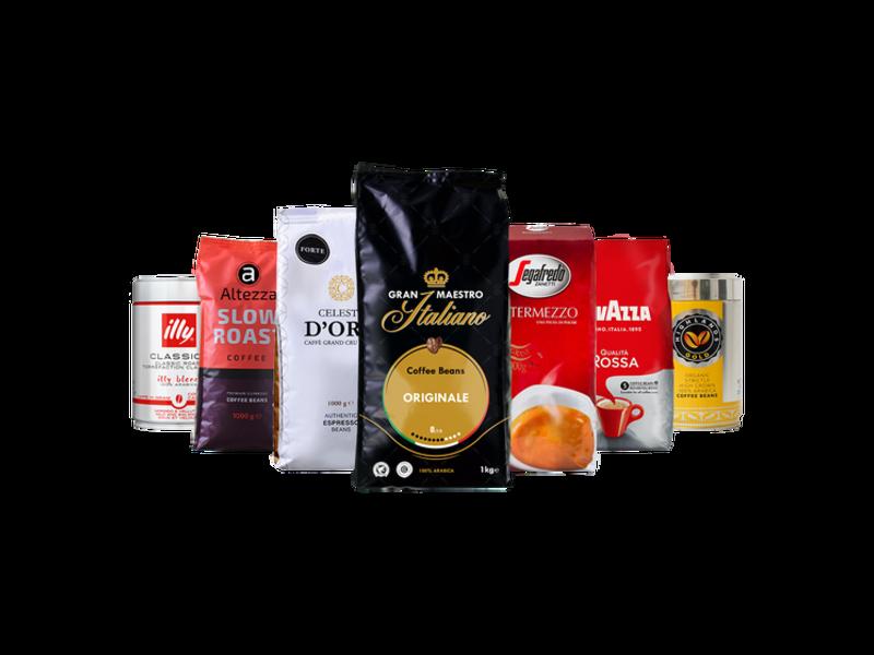 Coffret cafés en Grains Favoris de la maison - Café en Grains