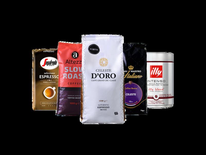 Package Qualità Italiana - Coffee beans