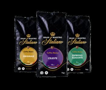 Gran Maestro Italiano - Compare package - Coffee Beans - Italy (3 kg)