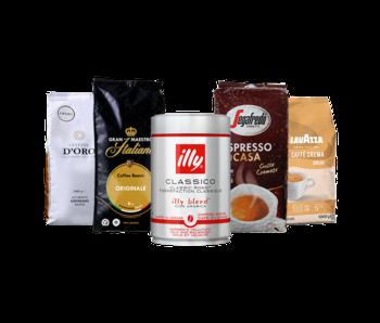 Proefpakket koffiebonen (4.25kg)