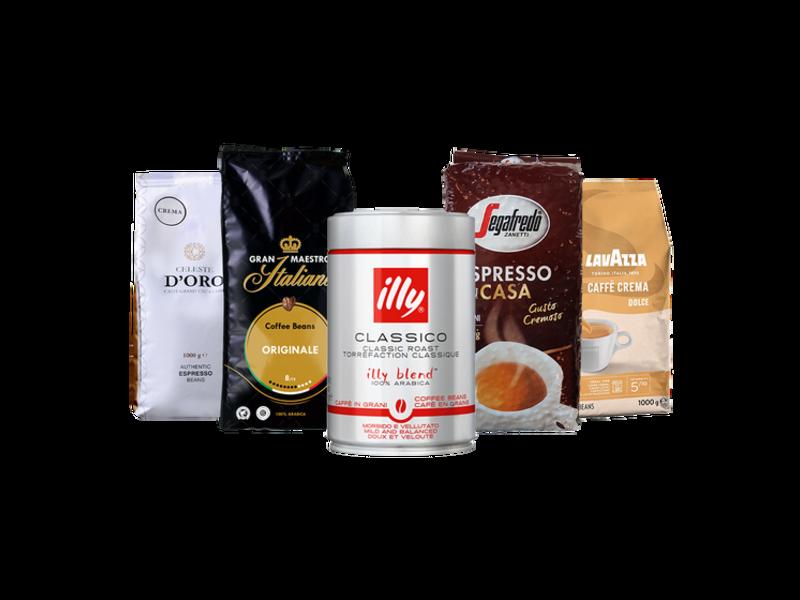 Coffret de dégustation – café en grain (4.25kg)