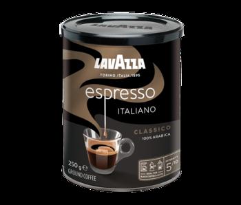 Lavazza - Caffè Espresso Black Tin - Café molido
