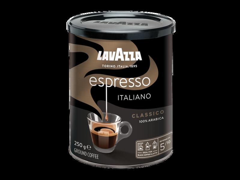 Lavazza Lavazza - Caffè Espresso Black Tin - Gemalen koffie
