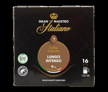 Gran Maestro Italiano - Lungo Intenso - Compatible Capsules pour Dolce Gusto®