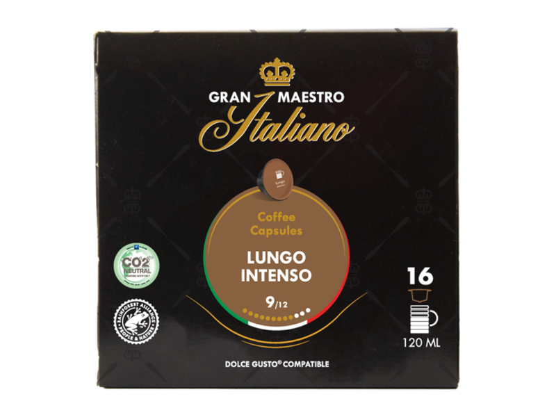 Gran Maestro Italiano Gran Maestro Italiano - Lungo Intenso - Compatible Capsules pour Dolce Gusto®