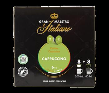 Gran Maestro Italiano - Cappuccino - Compatible Capsules pour Dolce Gusto®
