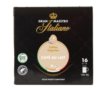 Gran Maestro Italiano - Cafe au Lait - Compatible Cups for Dolce Gusto®