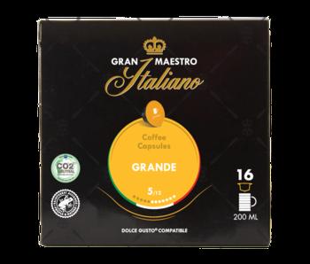 Gran Maestro Italiano - Grande - Compatible Cápsulas para a Dolce Gusto®