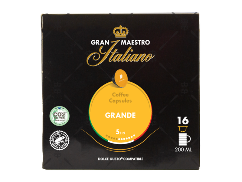 Gran Maestro Italiano Gran Maestro Italiano - Grande - Compatible Cups voor Dolce Gusto®