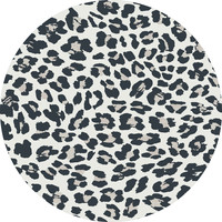 Vloerkleed rond | Panter grey