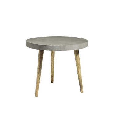 Nordal Nordal - Dining table, round, concrete/wood - Eettafel, rond - Beton/hout