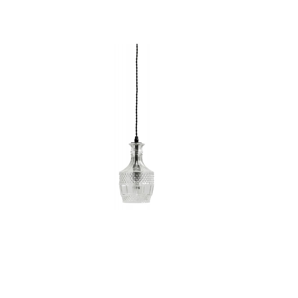 Nordal Nordal - Flacon lamp, clear, round - Ronde lamp