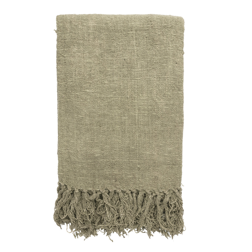 Original Home Original Home - Throw Handwoven - Green