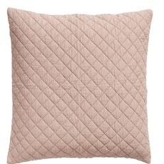 Nordal Nordal - Cushion cover, dusty rose, cotton - Kussenhoes katoen (incl. vulling) - Licht rose - 50x50