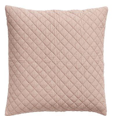 Nordal Nordal - Cushion cover, dusty rose, cotton - Kussenhoes katoen (incl. vulling) - Licht rose - 50x50