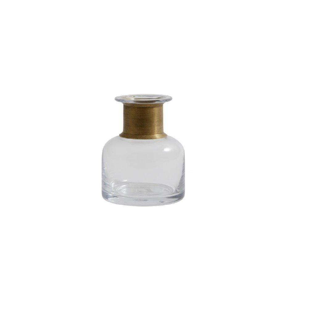 Nordal Nordal - Ring deco bottle, clear, S - Sierfles met ring - S