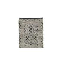 Nordal Nordal - Chindi woven rug, leather/cotton - Vloerkleed - Leer/katoen