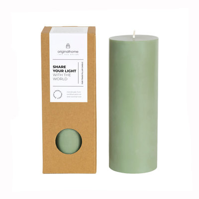 Original Home Original Home - Pillar Candle - Green