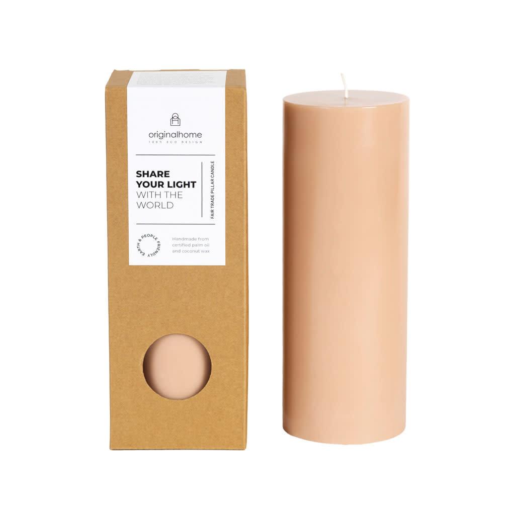 Original Home Original Home - Pillar Candle - Brown