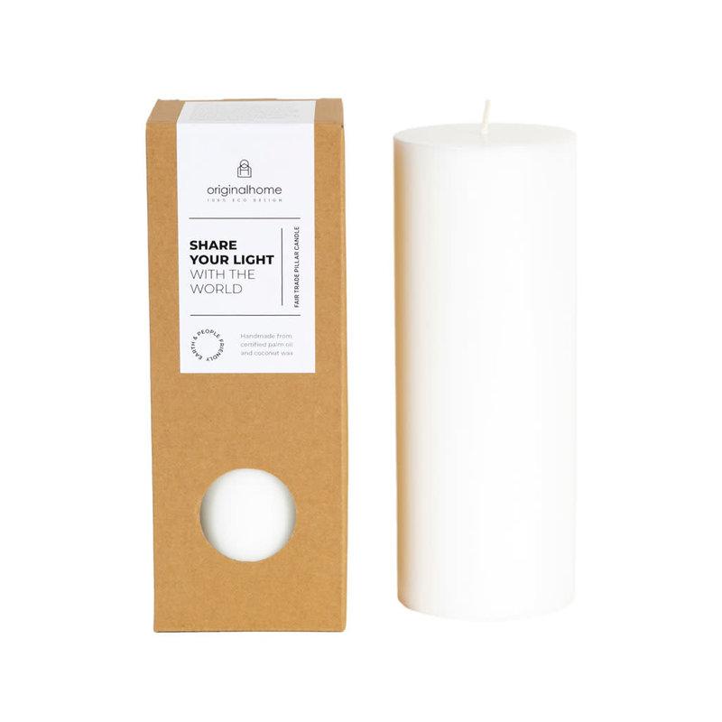 Original Home Original Home - Pillar Candle - White