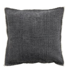 Nordal Nordal - Floor cushion cover, dark grey - Kussenhoes (incl. vulling) - Donkergrijs - 45x45