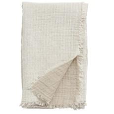 Nordal Nordal - Cotton shawl, off white/beige - Sjaal katoen - Off white/beige