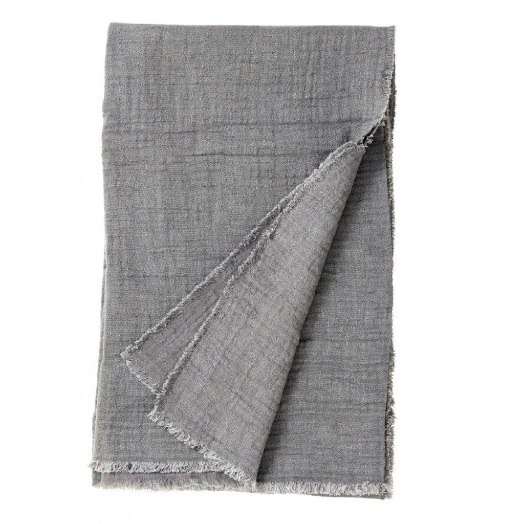 Nordal Nordal - Cotton shawl, grey - Sjaal katoen - Grijs