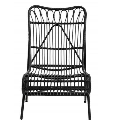 Nordal Nordal - Garden lounge chair, color black - Tuinstoel lounge - Zwart
