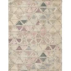 Nordal Nordal - Magic woven rug, pastel triangles - Vloerkleed Magic - Pastel - 160x240