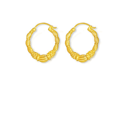By-Bar pd art hoop earring small