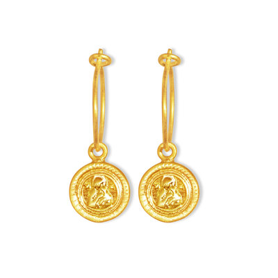 By-Bar pd maria round earring