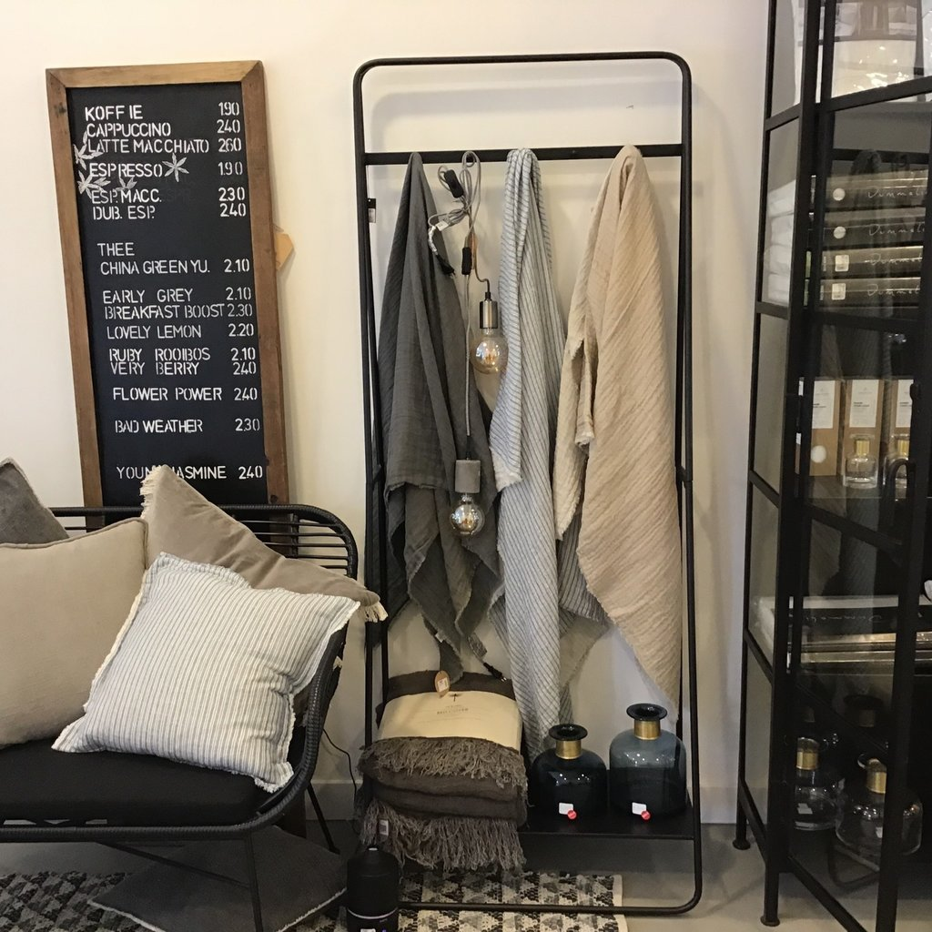 Nordal Nordal - Coat rack/hanger, metal, black - Kledingrek - Metaal, zwart
