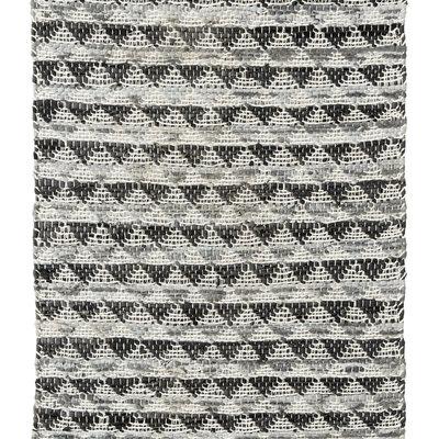 Nordal Nordal - Triangle leather carpet - vloerkleed 110x170