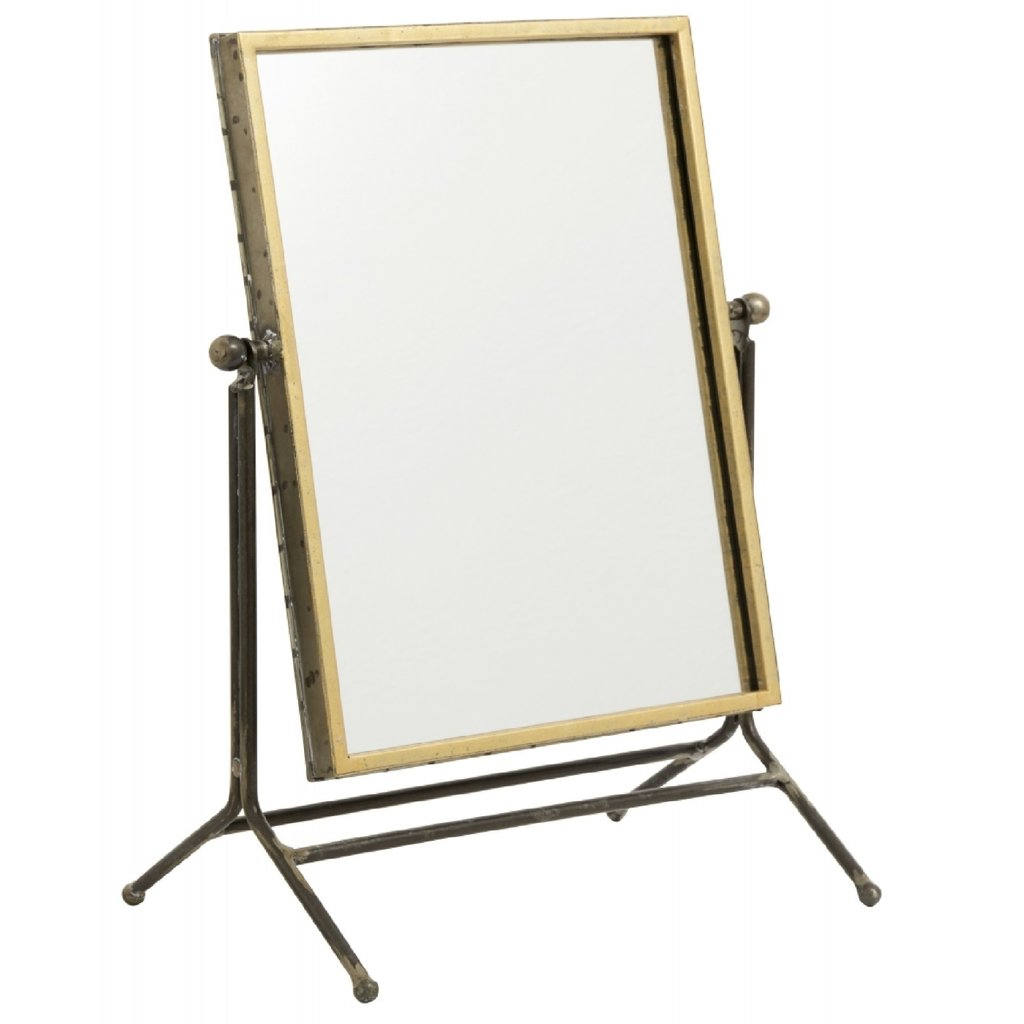 Nordal Table mirror, antique gold