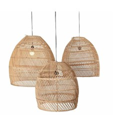 Original Home Original Home Lampshade Moon Natural - Set 3