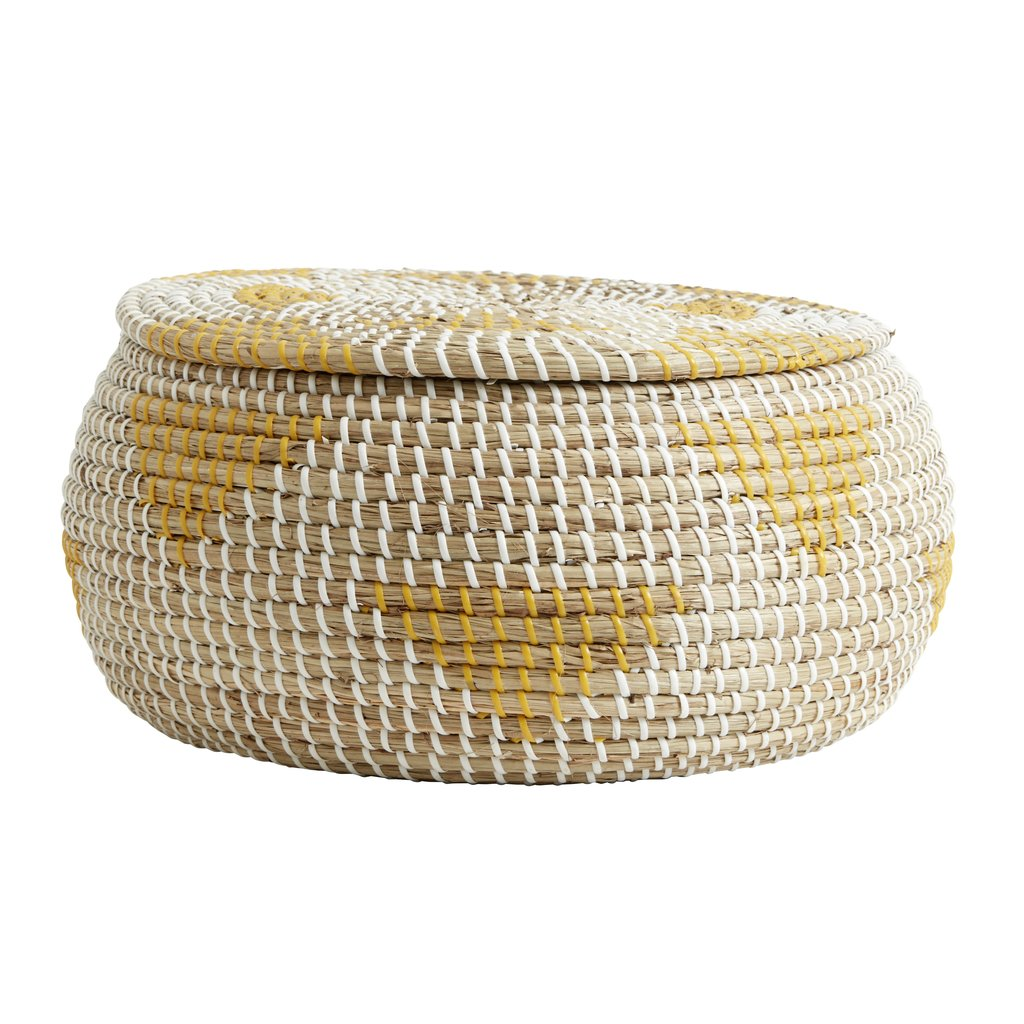 Nordal Nordal - Rosea basket, col. nature/yellow