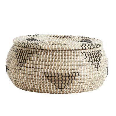 Nordal Nordal - Rosea basket, col. nature/black