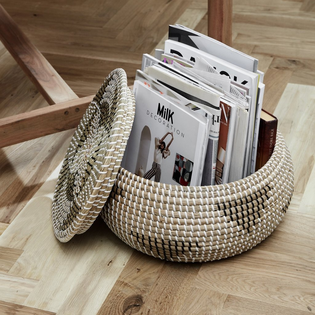 Nordal Nordal - Rosea basket, col. nature/black