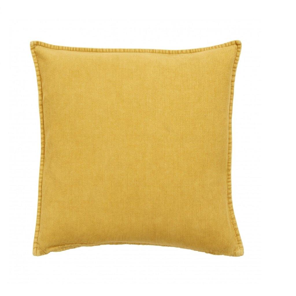 Nordal Sierkussen Borrby geel 48 x 48