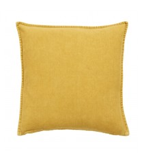 Nordal Cushion cover, curry, corduroy 48 x 48 cm