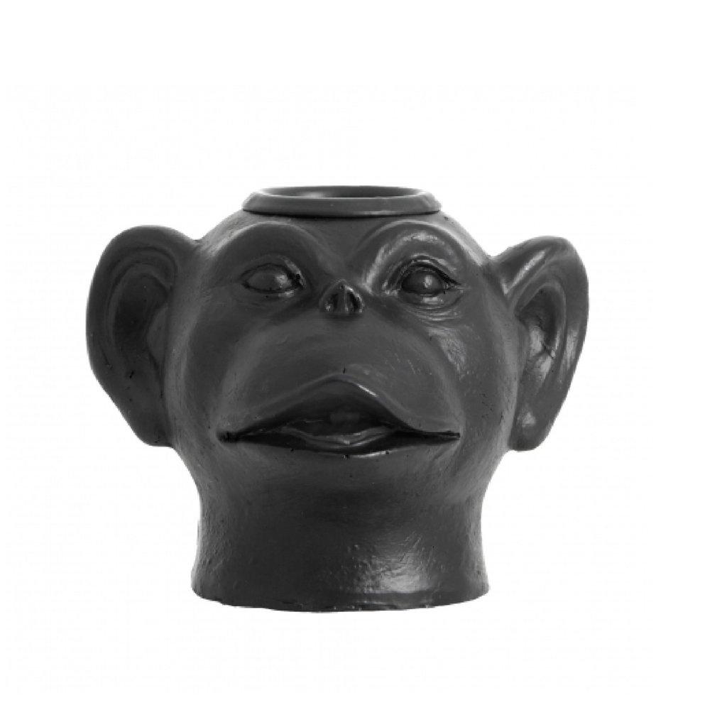 Nordal PALVA monkey head candleholder
