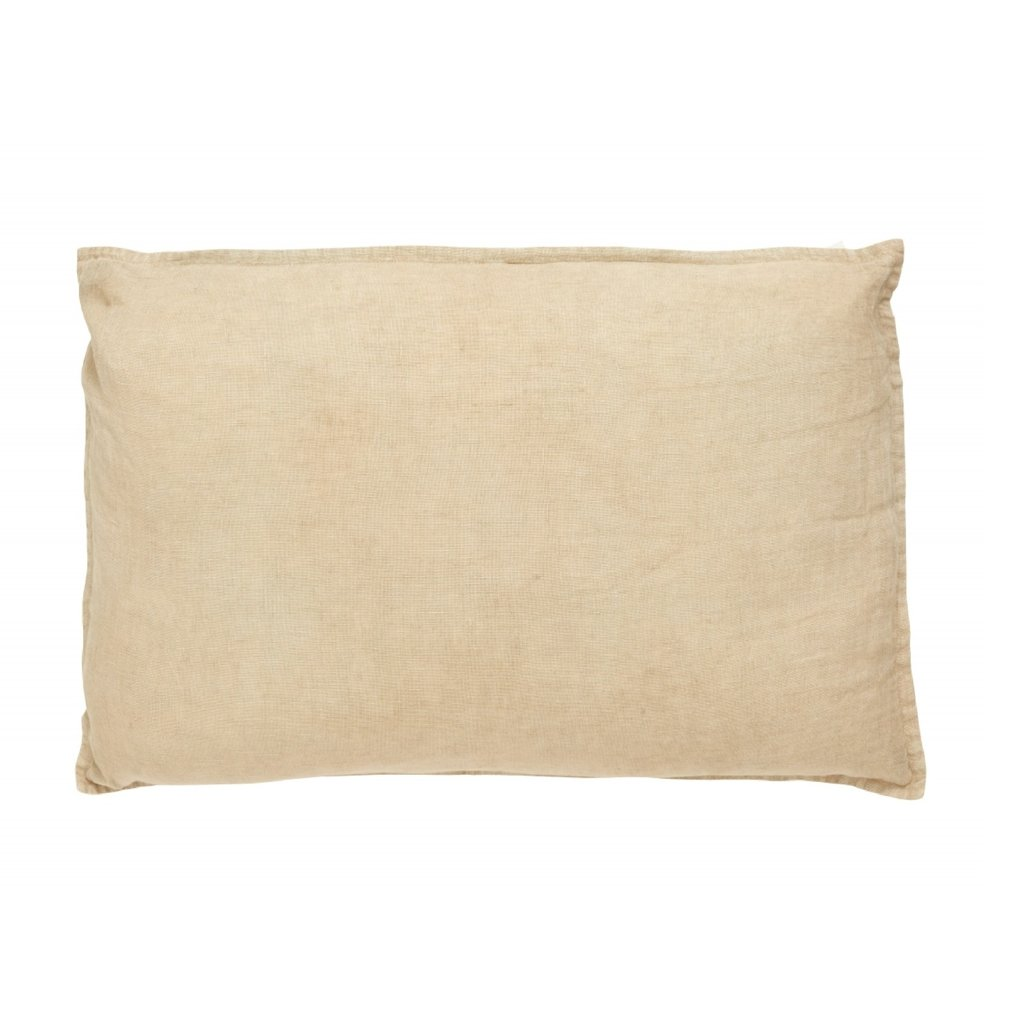 Nordal VELA cushion cover linen, sand
