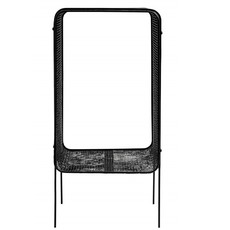 Nordal IRONAL side table, high, black